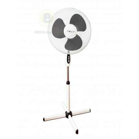 Ventiladores de Pie 44W Blanco 3 Velocidades NVRVP40N