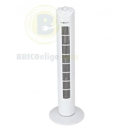 Ventiladores de Torre 50W Blanco 3 Velocidades NVRVT29