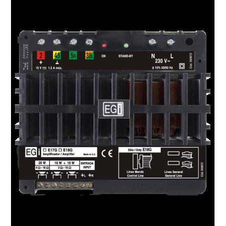 Amplificador Autónomo E17G/D Serie Domos EGI