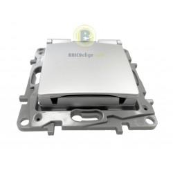 Base de Enchufe 2P+T con Tapa Aluminio 665332 Legrand Niloé