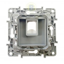 Conector RJ45 Keystone tapa color Blanco 664764 Legrand Niloé