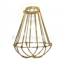 Lámpara Jaula Decorativa Vintage Oro 16-971-01-006