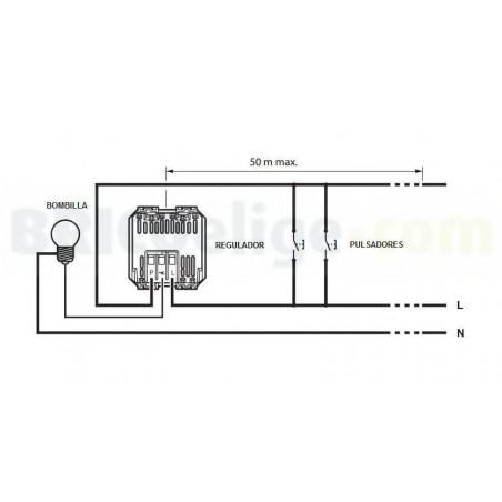 Regulador Universal Pulsación 2 Módulos H_4411 Axolute