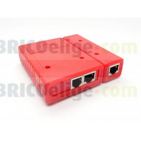Comprobador Tester de cables de Redes RJ11 RJ45 TES010