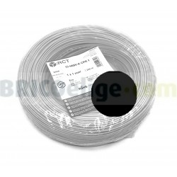 Cable flexible normal 1 mm² Negro 500V H05V-K1NE 200 M