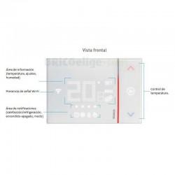 Termostato Conectado Smarther para Empotrar X8000 BTicino
