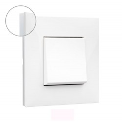 Placa 1 Elemento Blanco Opal 741001 Valena Next Legrand