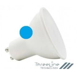 Bombilla Dicroica LED 5W Color Azul GU10 LC5WGU10AZ