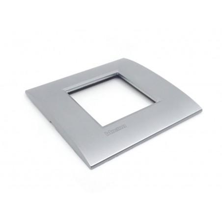 Placa 1 Ventana Cromo LNE4802CRS Bticino Livinglight AIR