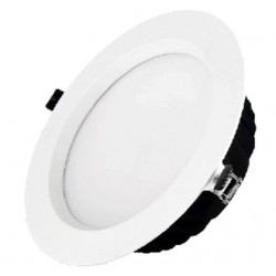 Downlight Led 20W Redondo Blanco 3000K Luz cálida LEDS GO