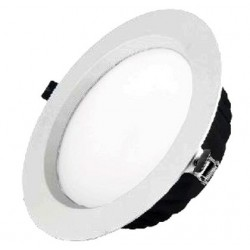 Downlight Led 25W Redondo Plateado 4000K Luz neutra DLT.02.025.02