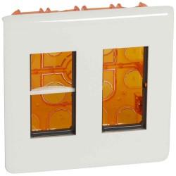 Caja + Marco de Empotrar en 2 Columnas para 8 Módulos. 078872 Legrand Mosaic