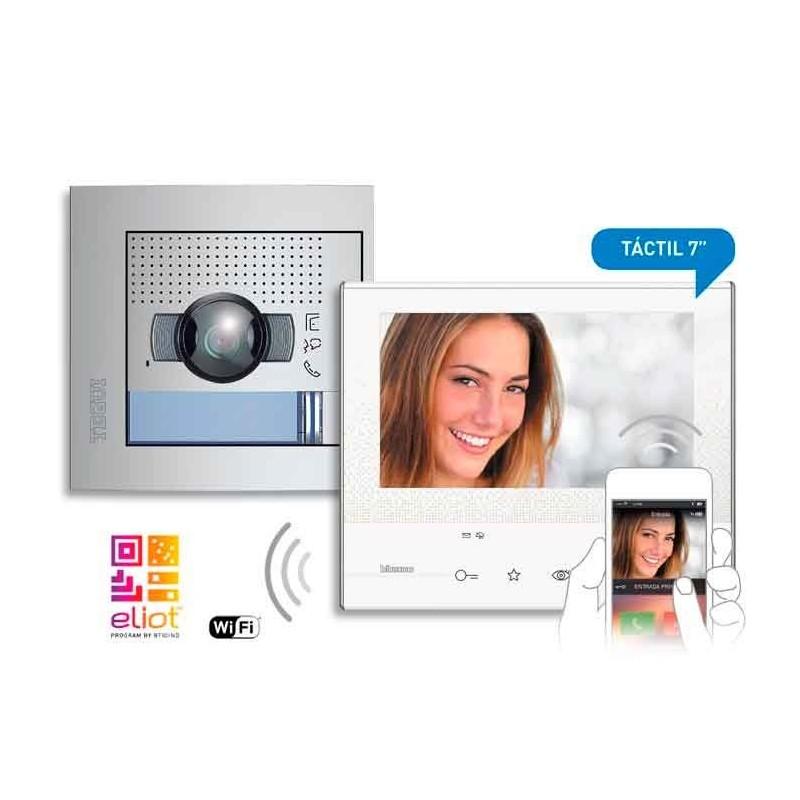 Kit Videoportero 2 Hilos 1V CLASSE300X13E + SFERA NEW 376171