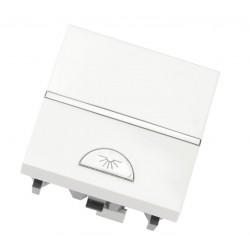 Pulsador símbolo de Luz Módulo ancho N2204.2 Niessen Zenit