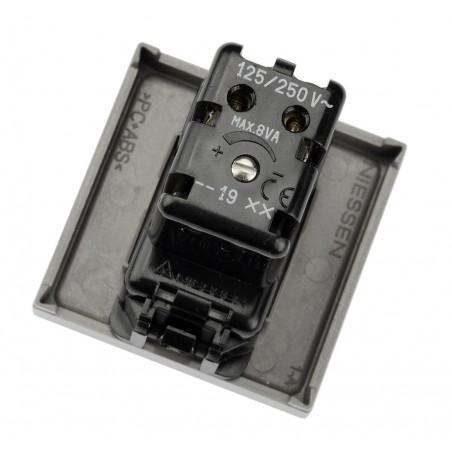 Zumbador con Tono regulable N2219 Módulo ancho Niessen Zenit