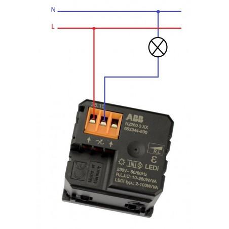 Regulador de LED niessen Zenit Plata N2260.3 PL