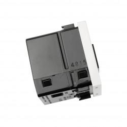 Cargador Doble USB Ancho Zenit Niessen Blanco N2285 BL