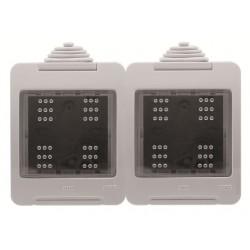 Caja Estanca Doble Niessen Zenit IP55 N3292