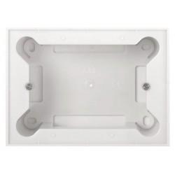 Zócalo Monocaja para mecanismos Niessen Zenit N2993 Blanco