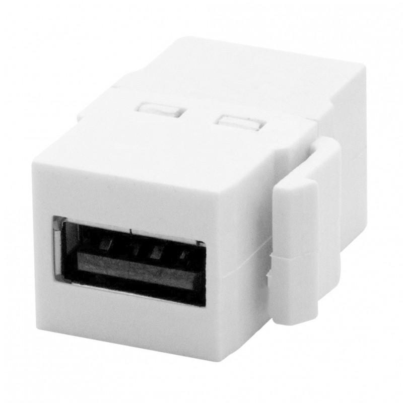 Conector USB Niessen Zenit 2055.8 Blanco Hem-Hem