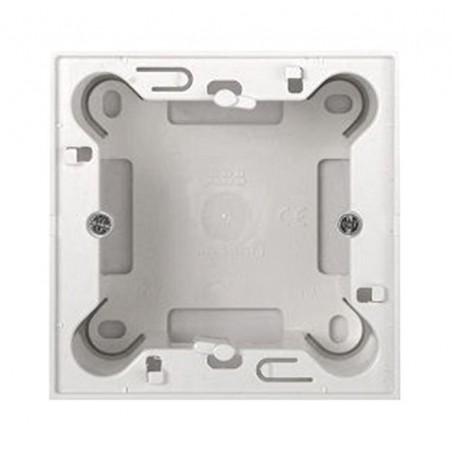 Caja Blanca sin Marco de Superficie para Mecanismos Zenit de Niessen N2991 BL