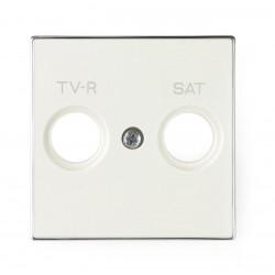 Tapa para Tomas TV-R / SAT Blanco 8550.1 BL Niessen Sky