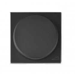 Tecla Reguladores giratorios Niessen Sky Negro 8560.2 NS
