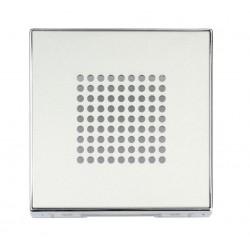 Tapa para Zumbador Niessen Sky Color plata 8529 PL