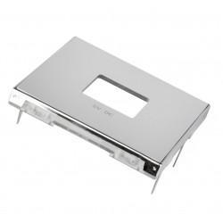 Tapa color Plata Cargador USB Doble Niessen Sky 8585 PL