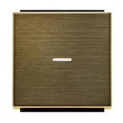Tecla Interruptores CON Visor 8501.3 OE Oro envejecido Niessen Sky