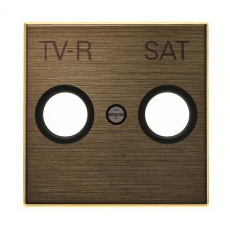 Tapa para Tomas TV-R / SAT Oro envejecido 8550.1 OE Niessen Sky