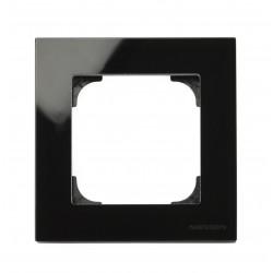 Marco 1 Ventana Cristal Negro 8571 CN Niessen Sky