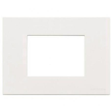 Marco Caja americana 3 módulos Blanco N2473.1 BL Niessen Zenit