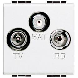 Toma TV-RD-SAT Única 1,5 dB...