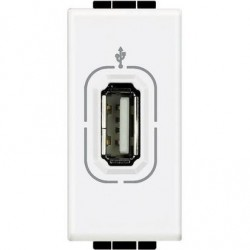Conector USB 1 Módulo _4285 BTicino Livinglight