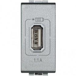 Cargador USB 230 Vca LivingLight Bticino
