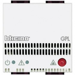 Detector de Gas Butano Propano 12V 2 Módulos _4512/12 BTicino Livinglight