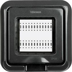 Tapa Bticino de Empotrar 2 Módulos Exterior IP55 Living-Light 24602L
