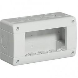 Caja Superficie 4 Módulos Exterior IP40 Living-Light 24404