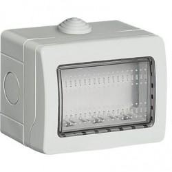 Caja Superficie 3 Módulos Exterior IP55 Livinglight 24503 BTicino