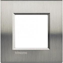 Placa 1 Ventana Acero pulido LNA4802ACS BTicino Livinglight