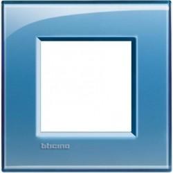 Placa 1 Ventana Azul LNA4802AD BTicino Livinglight