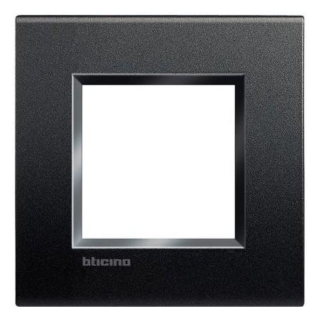 Placa 1 Ventana LNA4802AR Antracita BTicino Livinglight