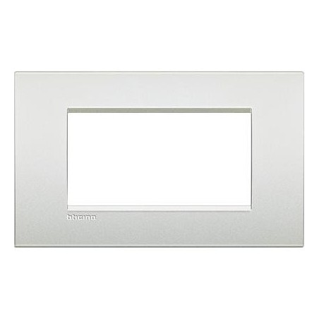 Placa rectangular Livinglight AIR 4 Módulos LNC4804PR Blanco perla