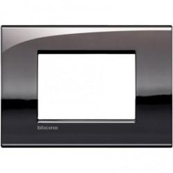 Placa Rectangular 3 Módulos Estaño LNC4803PT Livinglight AIR