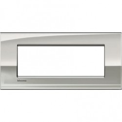 Placa Rectangular 7 Módulos Paladio LNC4807PL Livinglight AIR