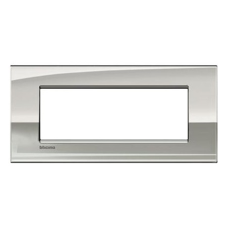 Placa Rectangular 7 Módulos Paladio LNC4807PL BTicino Livinglight AIR