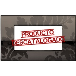 Placa Rectangular 4 Módulos Ramage LNC4804RM Livinglight AIR