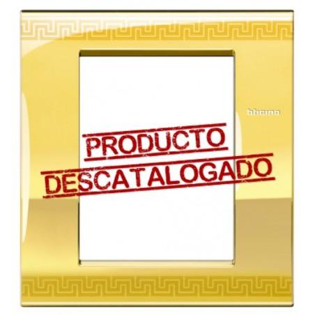 Placa Rectangular 3+3 Módulos Greek LNC4826GK Livinglight AIR
