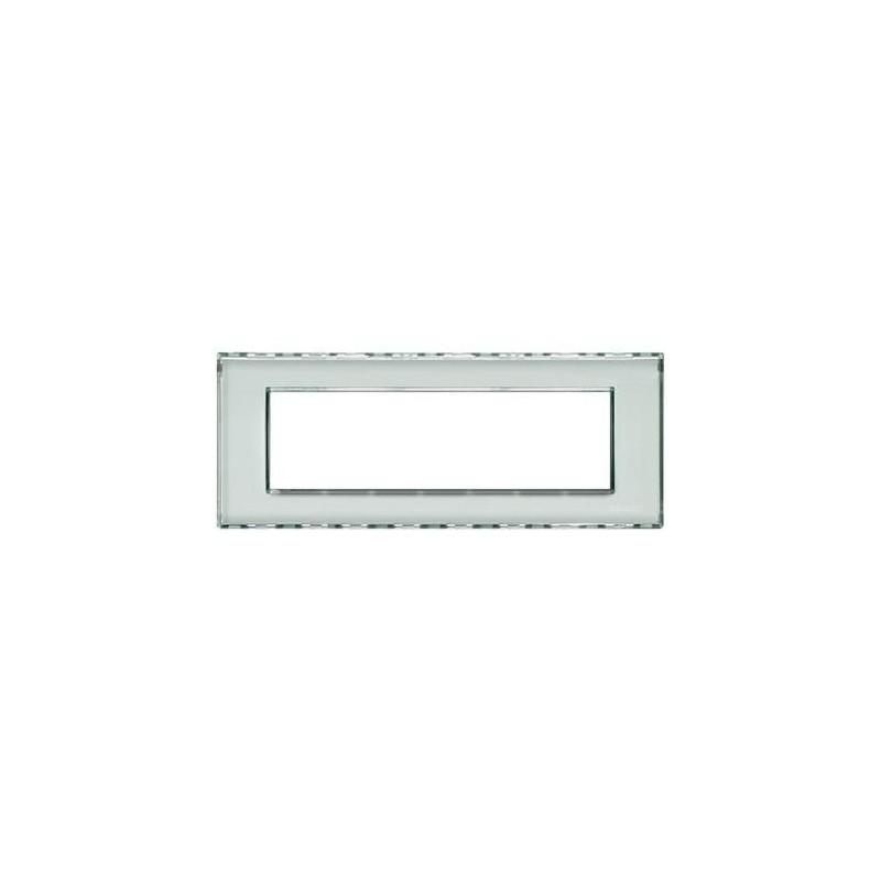 Placa Rectangular Personalizable 7 Módulos LND4807KR Livinglight